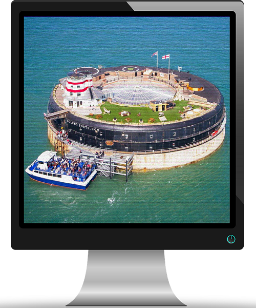 Virtual Portsmouth - Solent Forts