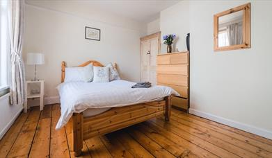 Bedroom 1 at Central Southsea 4-bed Home