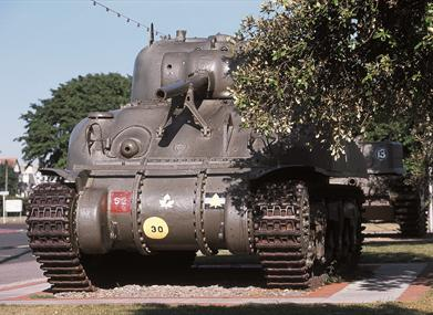 D-Day Museum tank