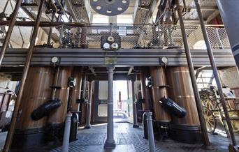 Eastney Beam Engine House Open Day