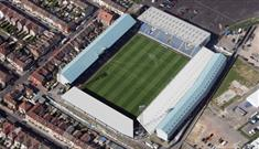 Fratton Park, home of Portsmouth Football Club