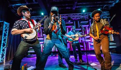 Gangstagrass press shot