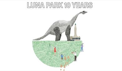 Luna Park 10 Years illustration
