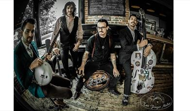 Press shot for The Outlaw Orchestra