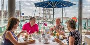 Waterfront Dining at the Emirates Spinnaker Tower