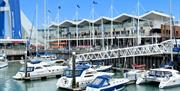 Image of Gunwharf Quays marina