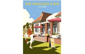 The Pavilion Cafe Poster