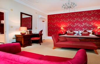 The Clarence Hotel suite