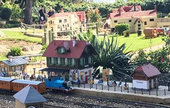 Trains at Southsea Model Village