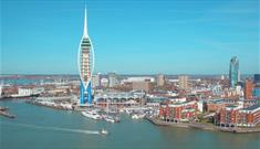 Gunwharf Quays and Spinnaker Tower