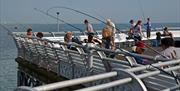 Fishing on South Parade Pier