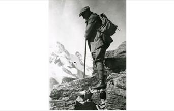 Photograph of Arthur Conan Doyle Mountain Walking