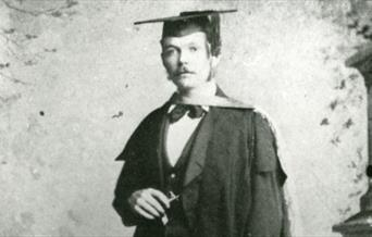 Arthur Conan Doyle at his Graduation