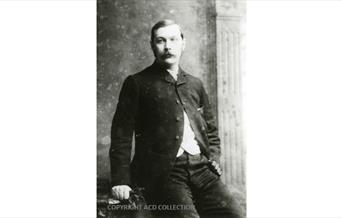 Photograph of Conan Doyle taken in Portsmouth