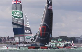 Photo from the Louis Vuitton America's Cup World Series Portsmouth, 2015