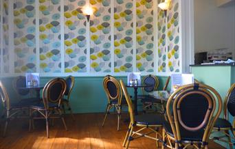 Capers interior, Southsea, Hampshire