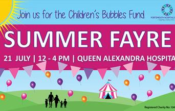 Poster for the Children's Bubbles Fund