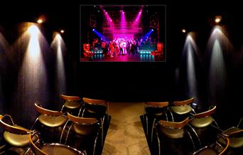 Image of the cinema at The Portsmouth Music Experience