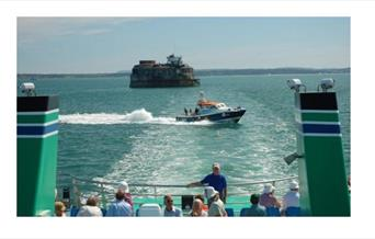 Image for Scenic Solent Cruises - Four Forts Cream Tea