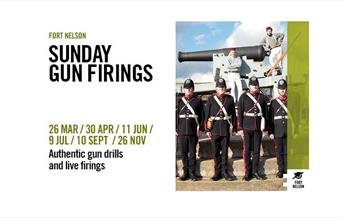 Image for Special Sunday Gun Firings at Fort Nelson