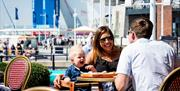 Food and rest at Gunwharf Quays