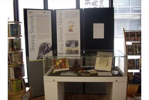Photo of the Playing Sherlock Exhibition Stand