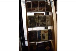 Books in the Playing Sherlock Exhibition