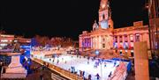The Guildhall overlooking Ice Skate Portsmouth