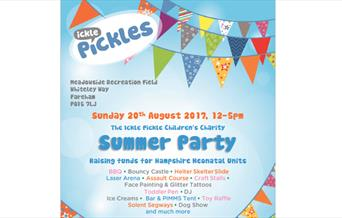 Ickle Pickles Summer Party - Whiteley