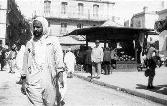 Photo of Arthur Conan Doyle in Tangiers