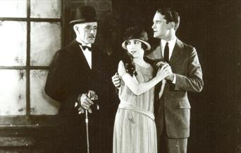 Photo from the 1925 Lost World production