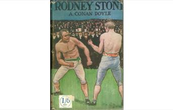 Photo of the book cover for Rodney Stone, published in 1896