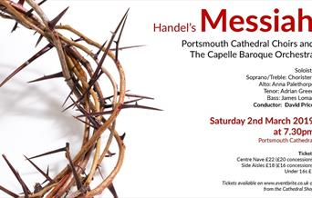 Handel's Messiah at Portsmouth Cathedral