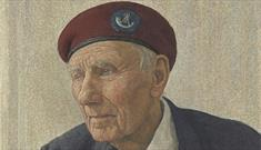Patrick 'Pat' Turner, Private with Oxfordshire and Buckinghamshire Light Infantry by Antony Williams - Royal Collection Trust / © Her Majesty Queen El