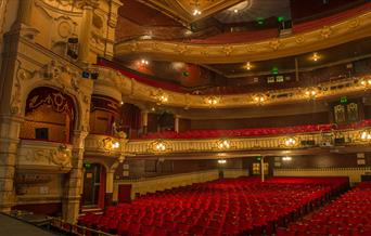 The grand surrounds of the Kings Theatre Southsea