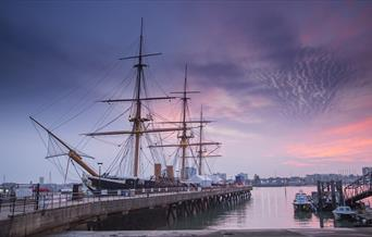 HMS Warrior 1860 for Pickle Night