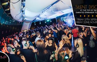 Silent Disco at the Emirates Spinnaker Tower