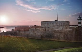 Southsea Castle & The Solent