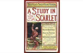 Image of the front cover of A Study in Scarlet