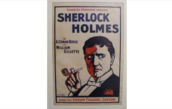 "Poster for the play ""Sherlock Holmes"""
