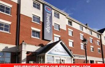 Exterior view of Portsmouth Travelodge