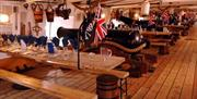 Dinner on board HMS Warrior 1860