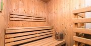 Sauna at New Place Hotel