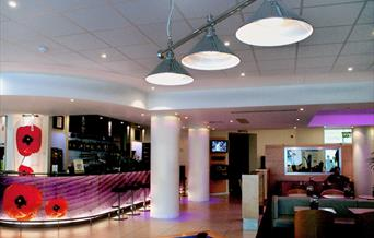 Ibis - reception area