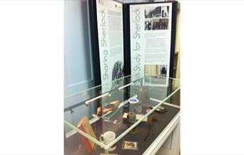Photograph of Study for Sherlock Exhibition Stand